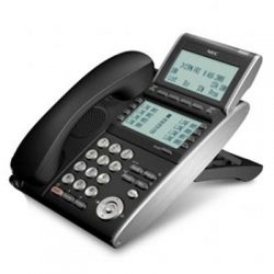 8 Line Key LCD IP Terminal [DT730] ITL-8LD-1A(BK) Tel Value - IP DESI-less terminal.